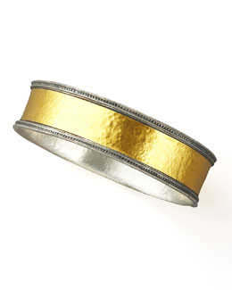 Gurhan Mixed Metal Bangle, Wide