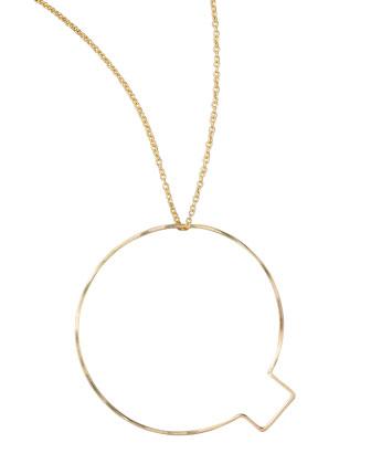 Letter-Pendant Necklaces