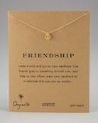 Friendship Anchor Pendant Necklace