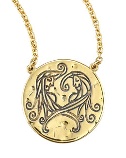 Amy Zerner Astrology Necklace, Gemini