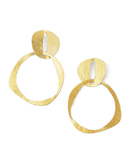 Herve Van Der Straeten Double-Circle Earrings