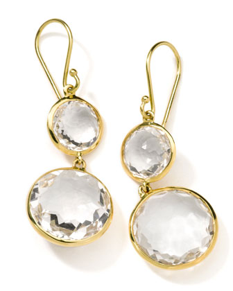 Gelato Round-Drop Earrings