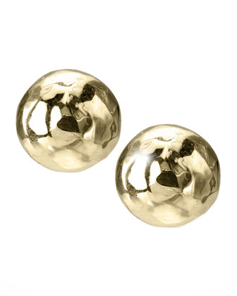 Mini Gold Stud Earrings