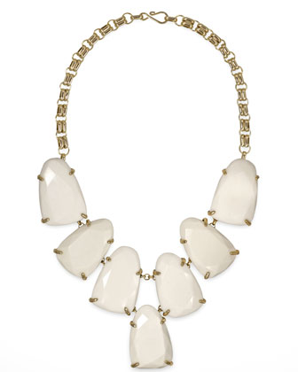 Harlow Necklace, White