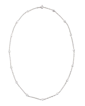 By-the-Yard Cubic Zirconia Necklace