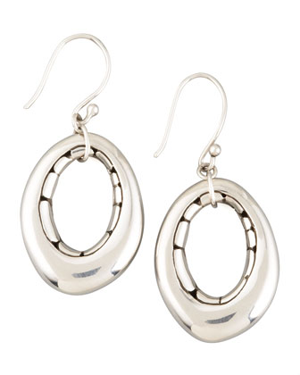 Oval Earrings, Small