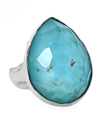 Wonderland Teardrop Ring