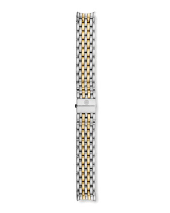 CSX 36 Diamond-Bezel Watch & Two-Tone Bracelet Strap