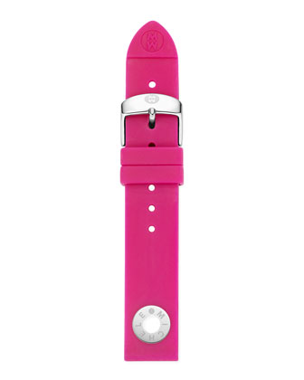 18mm Silicone Strap, Pink