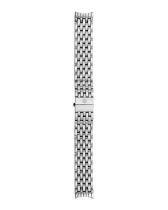 Serein Glamour Diamond Watch Head & 18mm Stainless Steel Bracelet Strap