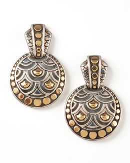 John Hardy Naga Drop Earrings