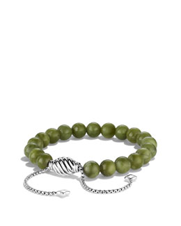 David Yurman Spiritual Bead Bracelet, Serpentine