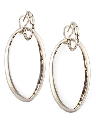 Kali Hoop-Drop Earrings