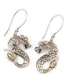 Naga Drop Earrings, Small