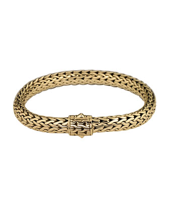 Classic Chain 18k Gold Medium Bracelet