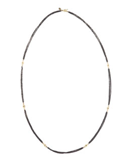 Armenta Three-Strand Diamonds By-the-Yard Necklace