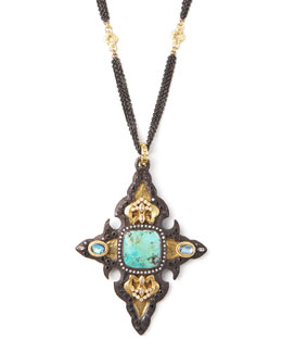 Armenta Chrysacolla Cross Enhancer