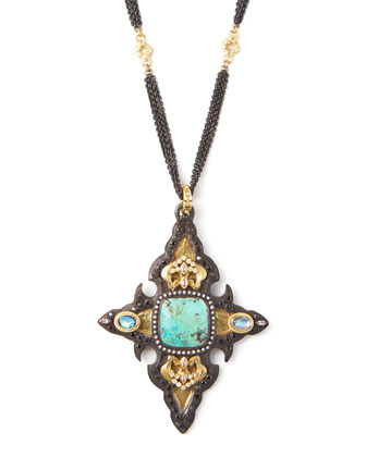 Chrysacolla Cross Enhancer