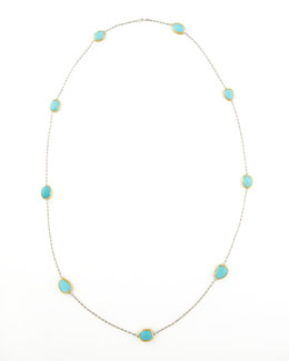 Gurhan Turquoise By-the-Yard Necklace, 40""