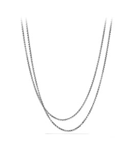 "David Yurman Wheat Chain Necklace, 3mm, 36""L"