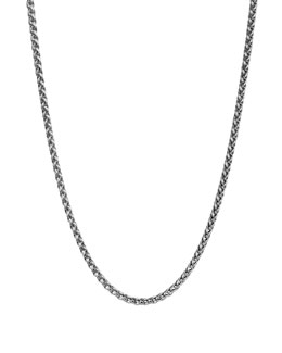 "David Yurman Wheat Chain Necklace, 3mm, 18""L"