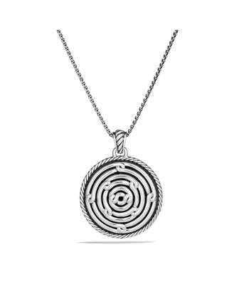 Labyrinth Large Disc Pendant