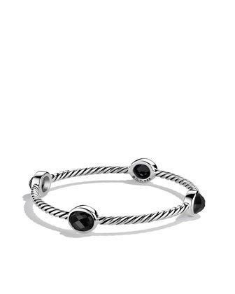 Color Classics Four-Station Bangle with Black Onyx