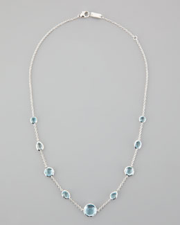 Ippolita Blue Topaz Rock Candy Necklace