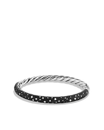 Midnight M??lange Bracelet with Diamonds