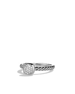 David Yurman Color Classics Ring, Pave Diamond