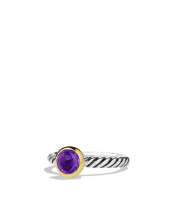David Yurman Color Classics Ring, Amethyst