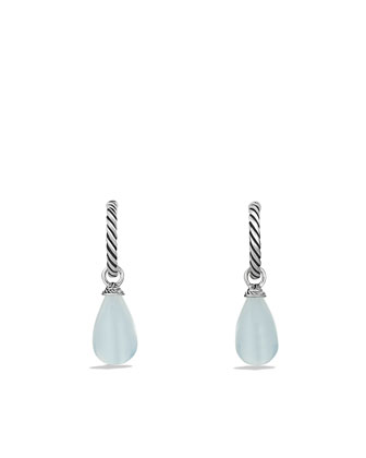 Color Classics Bead Drop Earrings with Moon Quartz