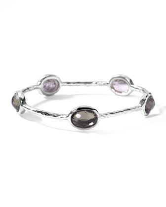Oval Pyrite-Station Wonderland Bangle