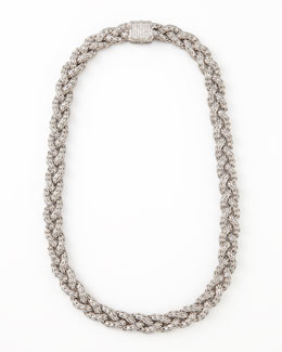 John Hardy Classic Chain & Pave Diamond Necklace, Small