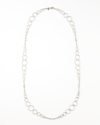 Dot Link Sautoir Necklace, 36