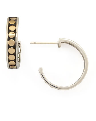 Dot Small Hoop Earrings