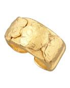 Gold Nugget Cuff