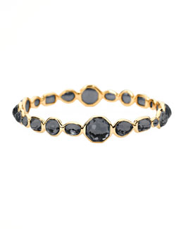 Ippolita Gold Gelato Bangle, Hematite