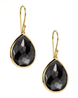 Ippolita Rock Candy Teardrop Earrings, Hematite