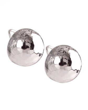 Glamazon Silver Clip Earrings, Small