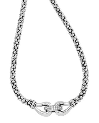 Derby Pave Diamond Necklace