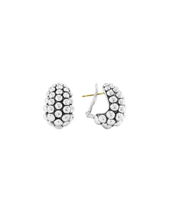 Bold Caviar Medium Earrings