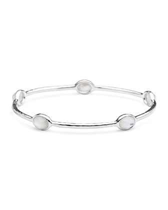 Five-Station Bangle, Mother-of-Pearl