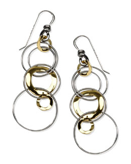 Ippolita Notte Multi-Shape Drop Earrings