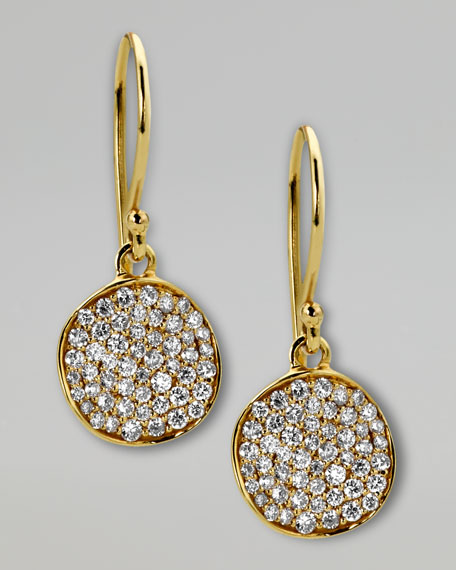 Stardust Diamond Drop Earrings