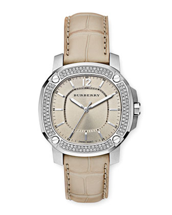 38mm Pave Diamond Watch