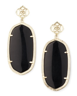 Kendra Scott Danielle Earrings, Black