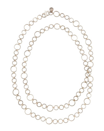 Noir Rose Gold Necklace, 42