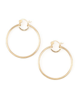 Simone I. Smith Yellow Gold Everlasting Hoop Earrings, Large