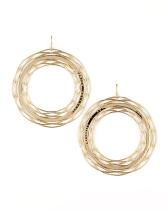Eternal Strength Hoop Earrings
